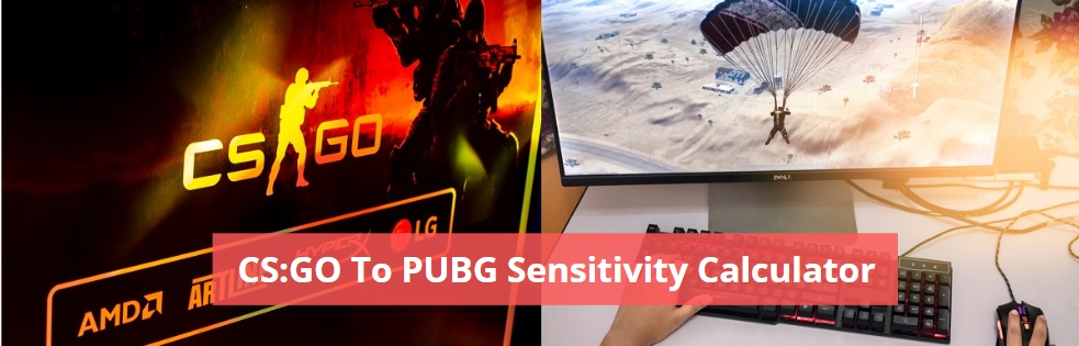 CS:GO To PUBG Sensitivity Calculator