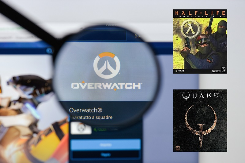 Counter Strike or Quake to Overwatch convertor